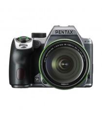 Pentax K-70 with 18-135mm Lens Silver Digital SLR Camera