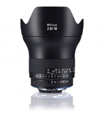 Carl Zeiss Milvus ZE 2.8/18mm for Canon Lens