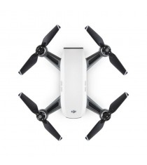 DJI Spark Mini Quadcopter Drone (Alpine White)