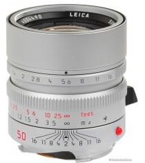 Leica Summilux-M 50mm F1.4 ASPH Silver Lens