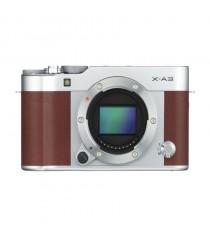 Fujifilm X-A3 Mirrorless Brown Digital Camera