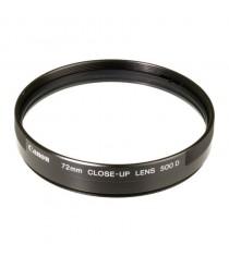 Canon 500D 72mm Close Up Lens