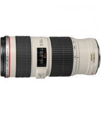 Canon EF 70-200mm f/4L IS USM White Lens