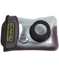Dicapac WP-410 Compact Camera Waterproof Case (Brown)