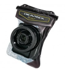 Dicapac WP-610 Prosumer Camera Waterproof Case (Brown)