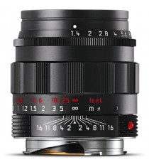 Leica Summilux-M 50mm F1.4 ASPH Black Lens