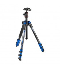 Manfrotto MKBFRA4BL-BH Befree Aluminum Tripod With Ball Head (Blue)