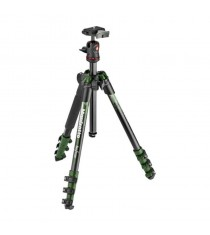 Manfrotto MKBFRA4GR-BH Befree Aluminum Tripod (Green)