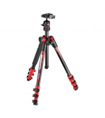 Manfrotto MKBFRA4RD-BH Befree Aluminum Tripod With Ball Head (Red)