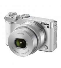 Nikon 1 J5 with 10-30mm White Mirrorless Digital Camera
