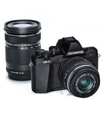 Olympus OM-D E-M10 II with 14-42mm EZ and 40-150mm Lens Digital SLR Camera