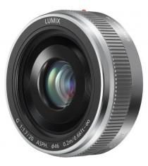 Panasonic LUMIX G 20mm f/1.7 II ASPH Silver Lens (White Box)