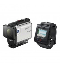 Sony HDR-AS300R with Live-View Remote Kit White Action Camera