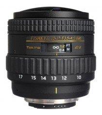 Tokina AT-X 107 AF DX NH 10-17mm f/3.5-4.5 Fisheye (Nikon) Lens