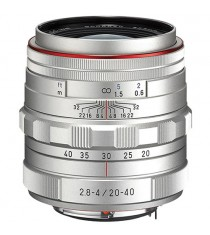 Pentax HD Pentax DA 20-40mm f/2.8-4 ED Limited DC WR Silver Lens