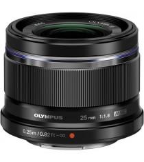 Olympus M.Zuiko Digital 25mm F1.8 Black Lens