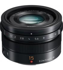 Panasonic Leica DG Summilux 15mm f1.7 ASPH Black Lens