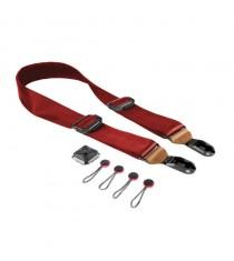 Peak Design Slide Camera Leather Strap SL-L-2 (Red/Tan)