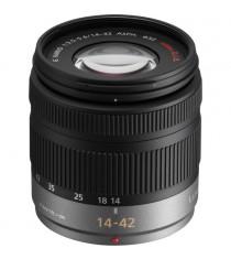 Panasonic Lumix G Vario 14-42mm f3.5-5.6 ASPH Mega OIS Black Lens