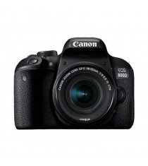 Canon EOS 800D Kit with 18-55mm f/4-5.6 IS STM Lens Black Digital SLR Camera