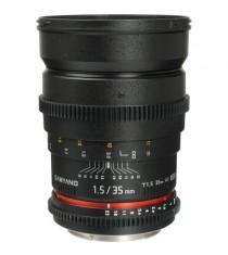 Samyang 35mm T1.5 VDSLR for Canon Lens