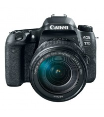 Canon EOS 77D Kit with 18-135mm f/3.5-5.6 IS USM Lens (Black)