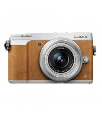 Panasonic Lumix DMC-GX85K with 12-32mm Lens Brown Digital Camera