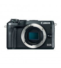 Canon EOS M6 Mirrorless Black Digital Camera
