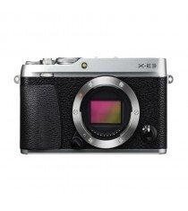 Fujifilm X-E3 Mirrorless Digital Camera (Silver)