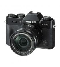 Fujifilm X-T20 Mirrorless Digital Camera with 16-50mm Lens (Black)