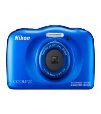 Nikon Coolpix W100 Blue Digital Compact Camera