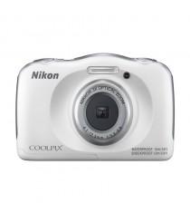 Nikon Coolpix W100 White Digital Compact Camera