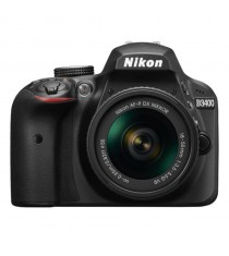 Nikon D3400 Black Digital SLR Camera with 18-55mm VR Lens
