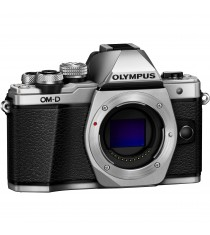 Olympus OM-D E-M10 Mark II Body Silver Digital SLR Camera (Kit Box)