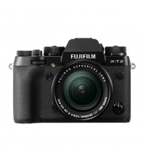 Fujifilm X-T2 with 18-55mm Black Mirrorless Digital Camera