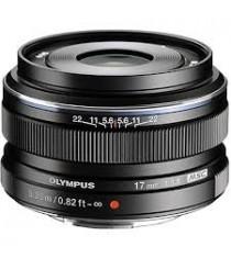 Olympus M.Zuiko Digital 17mm f/1.8 Black Lens