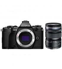 Olympus OM-D E-M5 Mark II with 12-50mm Micro 4/3 Lens Black Digital Camera