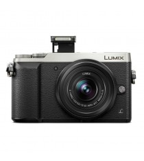 Panasonic Lumix DMC-GX85K with 12-32mm Lens Silver Digital Camera