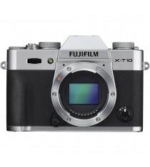 Fujifilm X-T10 Mirrorless Body Silver Digital Camera