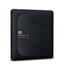 WD Elements My Passport Wireless Pro USB 3.0 4TB External Hard Drive WDBSMT0040BBK-CESN (Black)