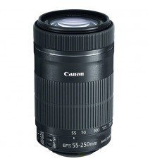 Canon EF-S 55-250mm f4-5.6 IS STM Lens (White Box)