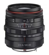 Pentax HD Pentax DA 20-40mm f/2.8-4 ED Limited DC WR Black Lens