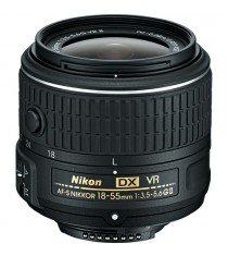 Nikon AF-S DX Nikkor 18-55mm f3.5-5.6G VR II Black Lens (White Box)