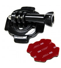 Maximal Power CA GP Helmet Mount 360 Degrees Rotation for GoPro