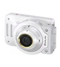 Casio Exilim EX-FR100L White Digital Camera