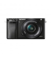 Sony Alpha A6000L with 16-50mm Lens Black Mirrorless Digital Camera