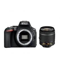Nikon D5600 Black Digital SLR Camera with 18-55mm AF-P VR Lens