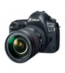 Canon EOS 5D Mark IV with EF 24-105mm f/4L IS II USM Lens Black Digital SLR Camera (Kit)