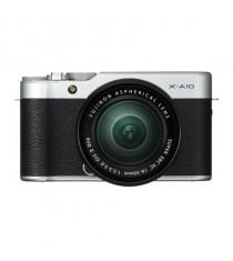 Fujifilm X-A10 with 16-50mm Lens Silver Mirrorless Digital Camera (Kit)