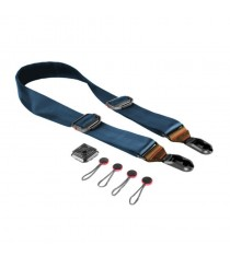 Peak Design Slide Camera Leather Strap SL-T-2 (Navy Blue/Tan)